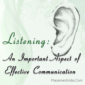Importance of effective communication in an