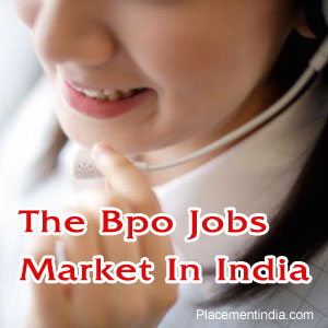 Bpo Jobs Market In India